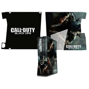 Skin Console XBOX 360 Slim Call of Duty Black Ops 3