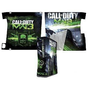 Skin Console XBOX 360 Slim Call of Duty MW3 mod 3