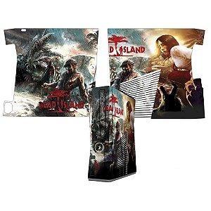 Skin Console XBOX 360 Slim Dead Island