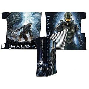 Skin Console XBOX 360 Slim Halo 4 mod 2