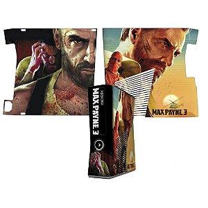 Skin Console XBOX 360 Slim Max Payne 3 mod 2