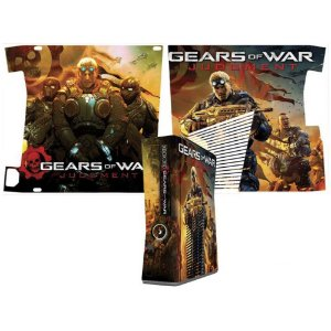 Skin Console XBOX 360 Slim Gears of Wars Judgment