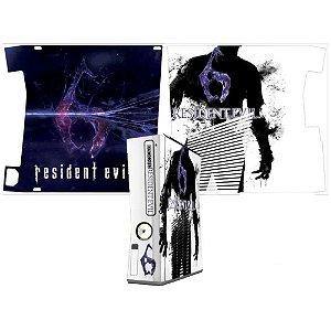 Skin Console XBOX 360 Slim Resident Evil mod 6