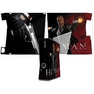 Skin Console XBOX 360 Slim Hitman mod 2