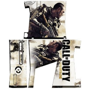 Skin Console XBOX 360 Slim Call of Duty