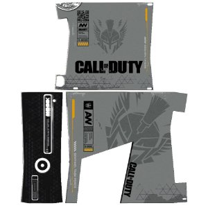 Skin Console XBOX 360 Slim Call of Duty mod 2