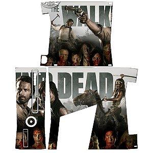 Skin Console XBOX 360 Slim The Walking Dead mod 2