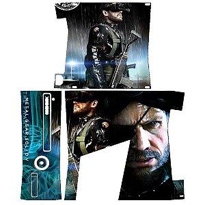 Skin Console XBOX 360 Slim Metal Gear Solid mod 2