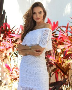 Vestido Jeri Branco