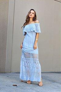 Vestido Angra Azul Claro