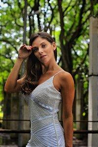 Vestido Lisboa Bordado