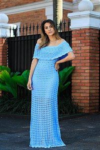 Vestido Paraty Azul