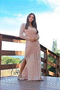 Vestido Algarve Rosé