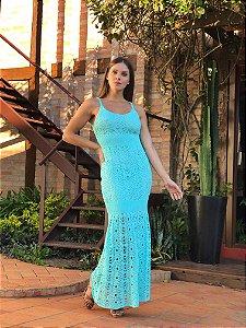 Vestido Monaco Acqua