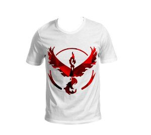 Camisa Pokémon GO - Team Valor