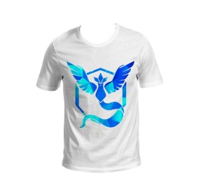 Camisa Pokémon GO - Team Mystic