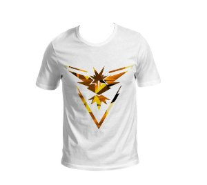 Camisa Pokémon GO - Team Instinct