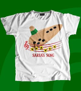 Camisa Ocarina of Time - Saria's Song