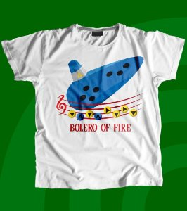 Camisa Ocarina of Time - Bolero of Fire
