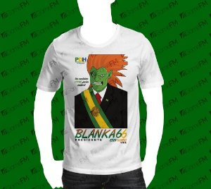 Camisa Blanka Presidente