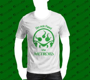 Camisa Do not feed the Metroid