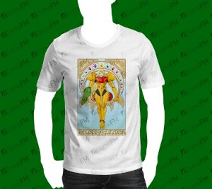 Camisa Metroid - Bounty Hunter