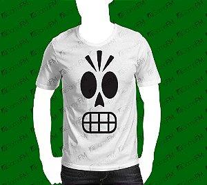 Camisa Grim Fandango - Manny Calavera