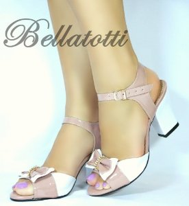 Sandália Bellatotti Bianca Nudo
