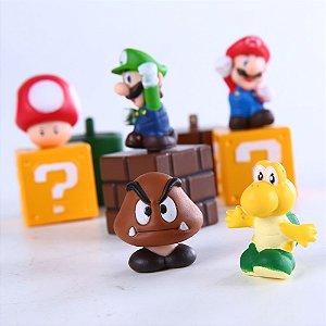 Super Mario - Coleção 5 peças - MugenMundo