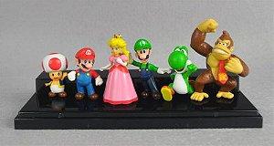 Super Mario Coleção - Mario, Luigi, Peach, Toad, Donkey Kong, Yoshi! - MugenMundo