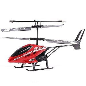 Helicoptero de Controle remoto Mini (VERMELHO) - MugenMundo
