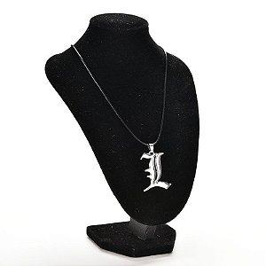 L - Pingente Death Note de - Lawliet - MugenMundo