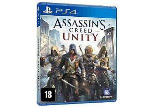 Assassin's Creed Unity - PS4 - Mídia Física
