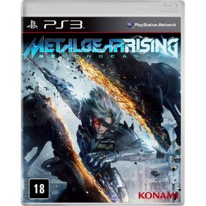 Metal Gear Rising: Revengeance PS3 - NOVO LACRADO