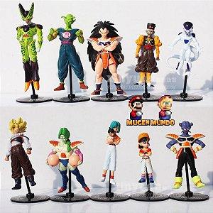 Dragon Ball Z, DBGT, Coleção completa com 10 bonecos lindos - PRONTA ENTREGA - MugenMundo