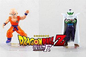 Kuririn + Piccolo Fukkatsu no F - DB SUPER - 2 bonecos
