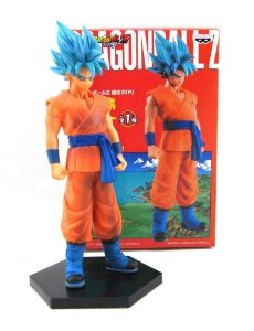 Boneco Dragon Ball Z Super Saiyan Blue Son Goku (banpresto)