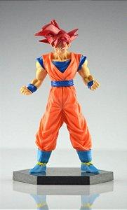Action Figure / Boneco Goku Super Saiyan Deus /goku God - MugenMundo