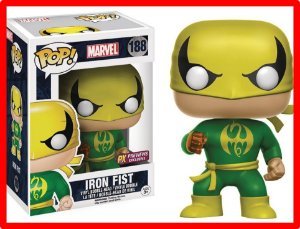 Funko Pop! Marvel Defenders Iron Fist Punho De Ferro Netflix