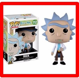 Funko Pop! - Rick And Morty - Rick 112 - Funko Original