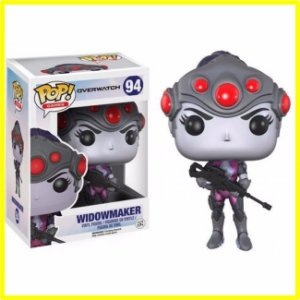 Boneco Funko Pop! Overwatch - Widowmaker - N° 94 Novo