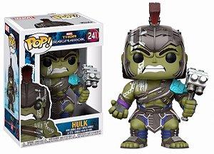 Funko Pop! Marvel: Boneco Thor Ragnarok - Helmet Hulk N.º241
