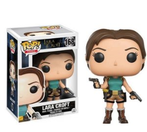 Funko Pop - Lara Croft Tomb Raider Clássico - Original 10 Cm Na caixa