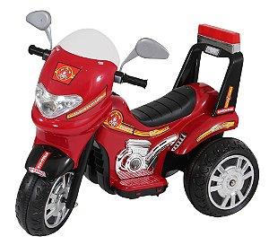 Moto Elétrica Infantil Sprint Bombeiro 6V