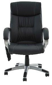 Cadeira com Regulagem Office Cartagena com Massagem e Função Relax