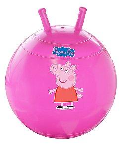 Bola Pula-Pula Rosa Peppa Pig
