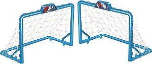 Chute a Gol Azul Personalizado com Tema Spiderman