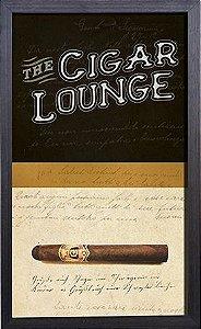 Quadro Porta Rolha Tampinha Cigar Lounge (864)