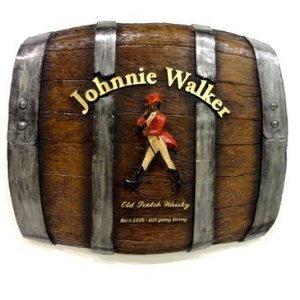 Placa Decorativa Barril Johnnie Walker (453)