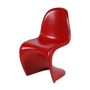 Cadeira Panton em ABS Vermelho